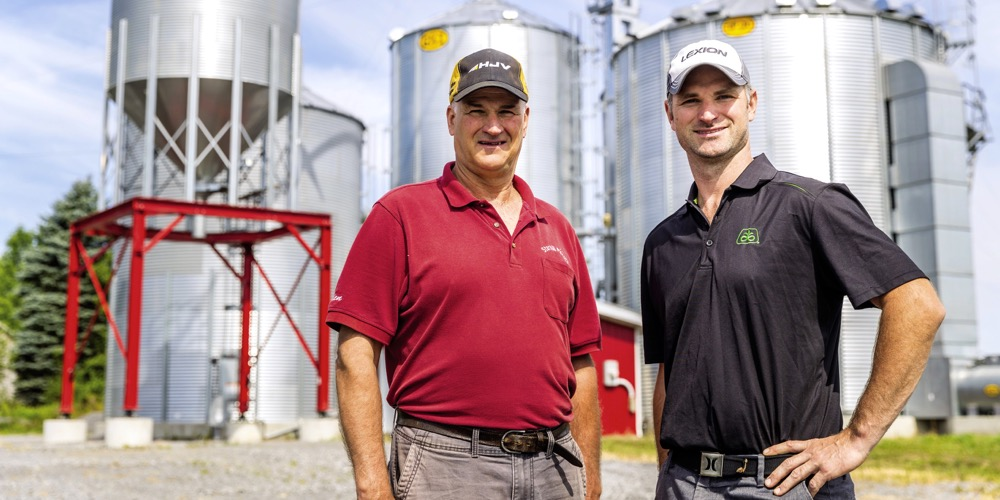 For father Allen and Trevor Cunning, building their own elevator has boosted their operational flexibility and greatly reduced stress.