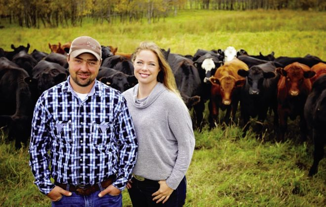 Across Canada, the beef sector is earning praise for its industry-leading mentorship programs, delivered by producers like Saskatchewan's Aaron and Adrienne Ivey.