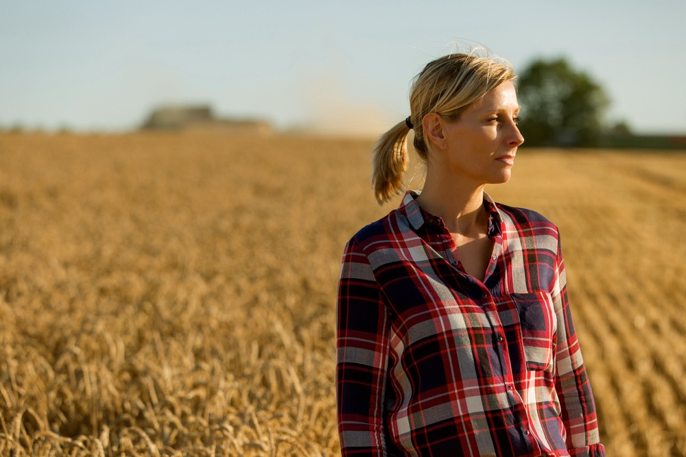 Portrait of a female farmer