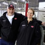 Nicolaas and Wilma Zeldenrijk operate one of the most technologically advanced farms in Canada, with automated feeding, milking and bedding.