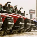 Are Canadian farmer's machinery choices influenced most strongly by what's on offer at their favourite local dealer?
