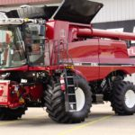 New combines from Case IH
