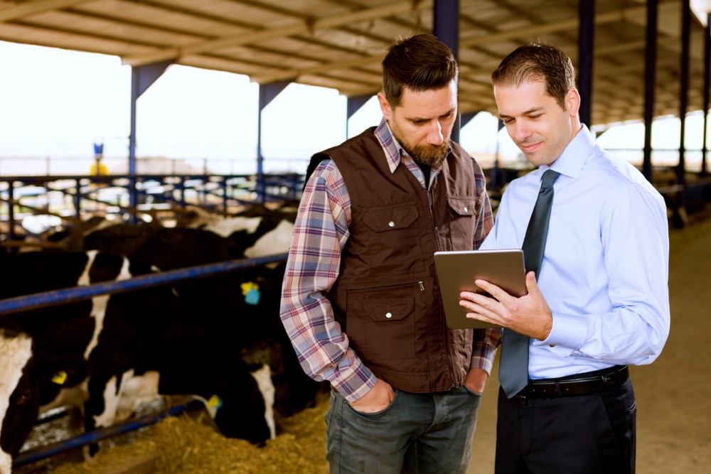 Farmer and Financial Advisor
