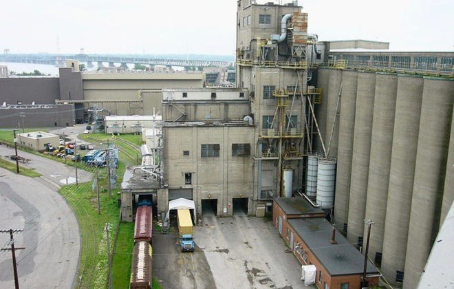 Canada Malting's processing plant in Montreal. (CanadaMalting.com)
