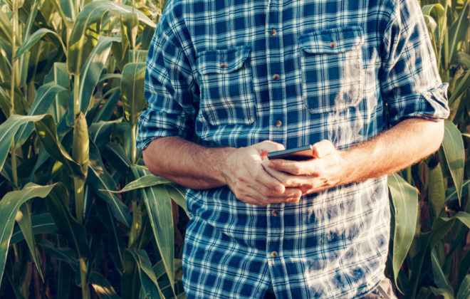 In the not-too-distant future, a farmer's job will be more about managing data than managing soil.