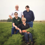 Teamwork makes the dream work for this group of Alberta farmers