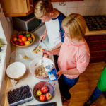Passing on cooking skills to the next generation often falls by the wayside due in part to the easy availability of takeout and processed foods.