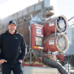Wade Bleier runs three companies from his farm in Saskatchewan.