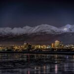A view of Anchorage, Alaska from Cook Inlet. (RobsonAbbott/iStock/Getty Images)