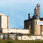 Richardson International's Yorkton, Sask. canola crush plant. (CNW Group/Richardson International)