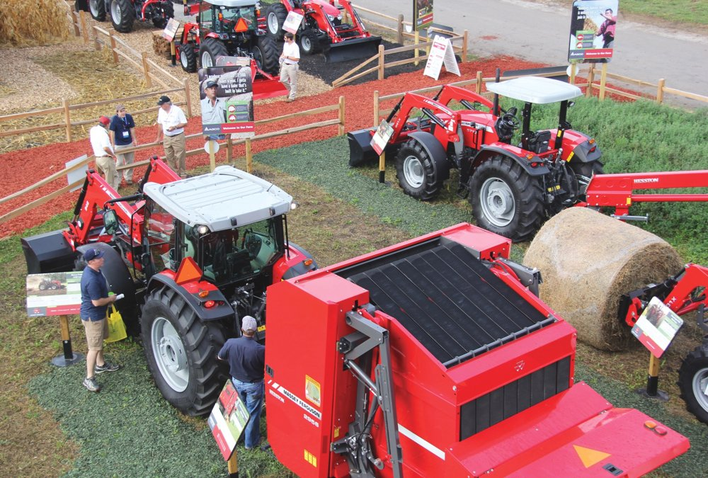 "Now that farmers have had a taste of ""attending"" virtual machinery shows, will in-person machinery shows continue to attract the same crowds?"